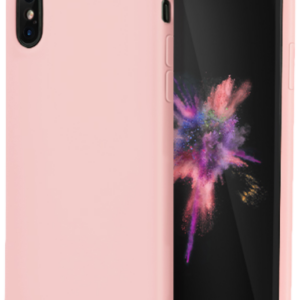 Baseus - iPhone XS Max silikone cover (pink)