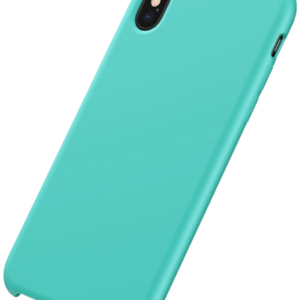 Baseus - iPhone XS Max silikone cover (turkis)