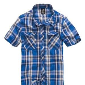 Brandit Roadstar Kortærmet Skjorte (Blå, L)