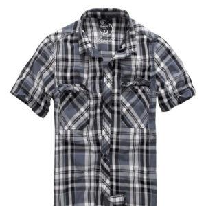 Brandit Roadstar Kortærmet Skjorte (Sort / Antracit, 3XL)