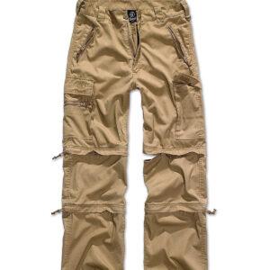 Brandit Savannah Zip Bukser (Camel, M)