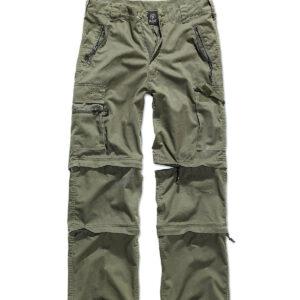 Brandit Savannah Zip Bukser (Oliven, S)