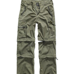Brandit Savannah Zip Bukser (Oliven, XL)