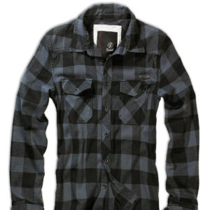 Brandit Ternet Skjorte (Sort / Grå, 4XL)