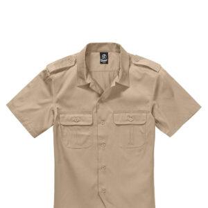 Brandit U.S. Army Skjorte (Beige, L)