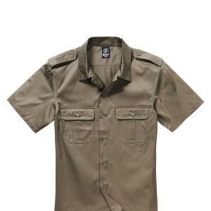 Brandit U.S. Army Skjorte (Oliven, M)