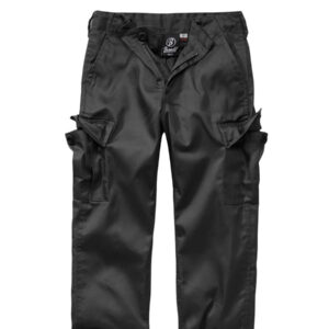 Brandit US Ranger Bukser til Børne (Sort, 122-128 / S)