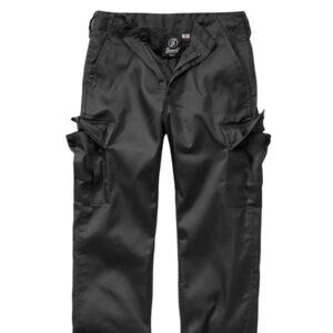 Brandit US Ranger Bukser til Børne (Sort, 134-140 / M)