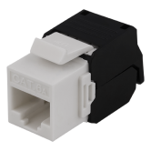 """DELTACO UTP Cat6a keystone connector, """"Tool-free"""""""