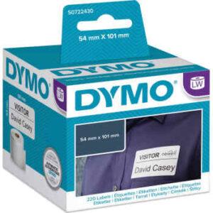 DYMO Dymo lw label papir 54x101mm