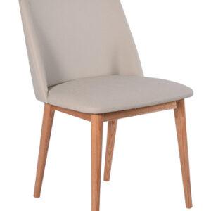 RGE Perstorp spisebordsstol - naturfarvet kunstlæder, uden armlæn