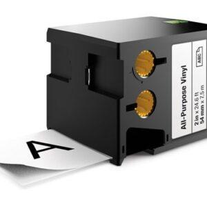 Sort på Hvid 54 mm Dymo XTL-tape
