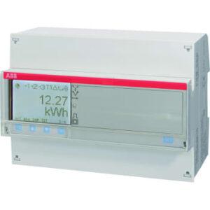 ABB El-måler 3f 80a m/udgang