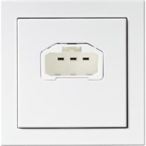 ABB Lampeudtag t/væg dcl 6a hvid