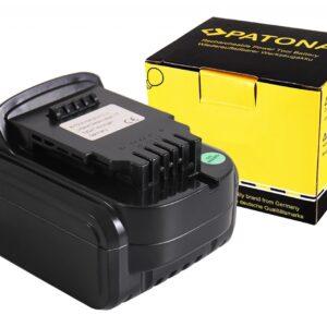 PATONA Battery f. Dewalt DCB140 DCB141 DCB142 DCD DCF Serie