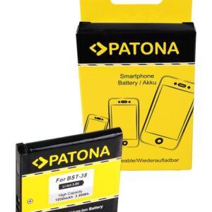 PATONA Battery f. Sony Ericsson BST-38 C510 C902 C905 Jalou (F100i) K770i K850i