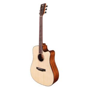 Tyma D-3CE NS western-guitar natur