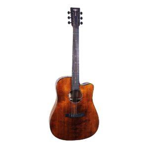 Tyma D-3CE RS western-guitar brun