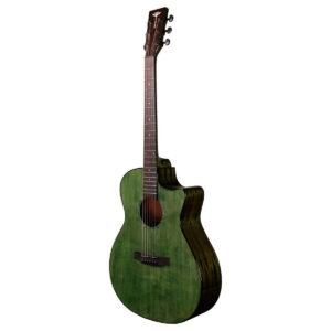 Tyma G-3E CG western-guitar grøn