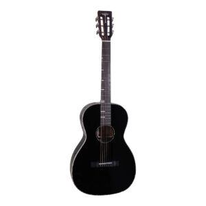 Tyma P18E BK western-guitar sort