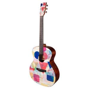 Tyma V-3E Popular western-guitar