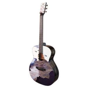 Tyma V-3E Ukiyoe western-guitar