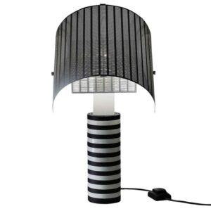 Artemide SHOGUN Bordlampe Hvid Skærm, Hvid/Sort Base