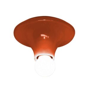 Artemide TETI Væg/ Loftlampe Orange