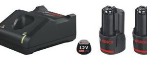 Bosch batteri startersæt 12v