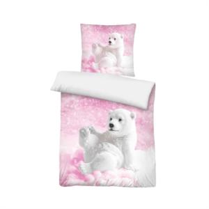 Sengetøj, Isbjørn, lyserød - bySKAGEN