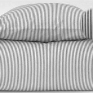 Sengetøj, grå/hvid - bySKAGEN