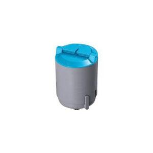 Samsung CLP300 C (CLPC300A) Lasertoner, Cyan, kompatibel (1000 sider)