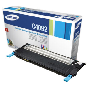 Samsung CLT-C4092S/ELS, Cyan Lasertoner, Original