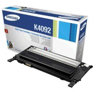 Samsung CLT-K4092S/ELS, sort Lasertoner, Original