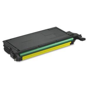 Samsung CLT Y508L Y Lasertoner, Gul, Kompatibel, 4000 sider