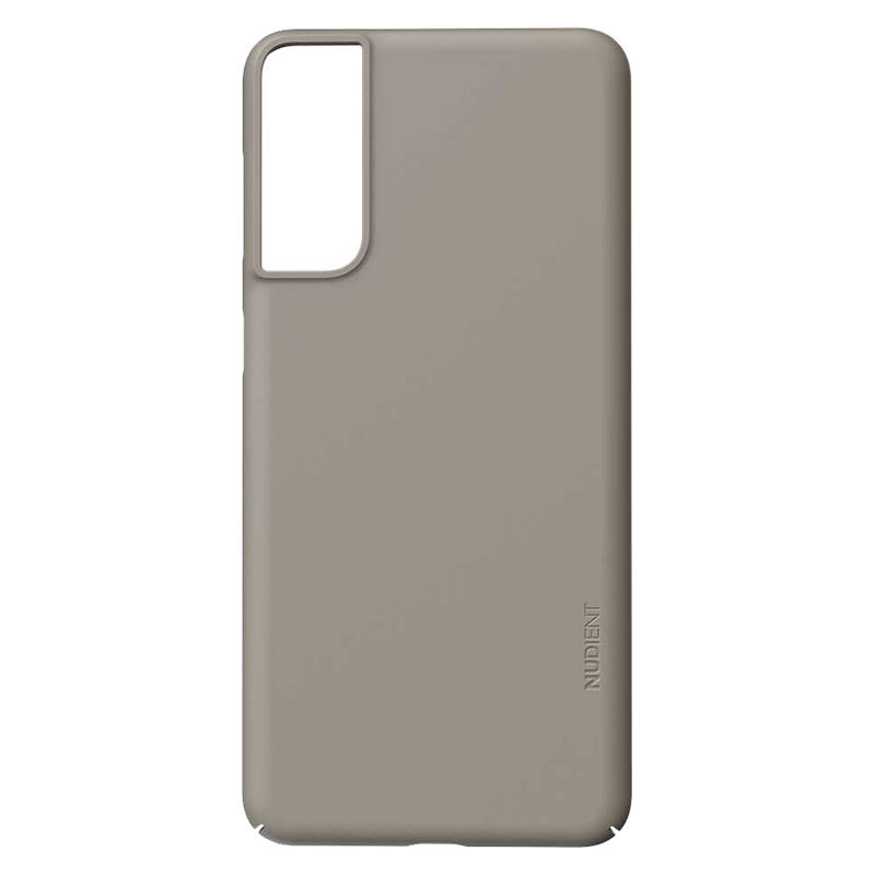 Nudient Thin Precise V3 Samsung Galaxy S21+ Cover, Clay Beige