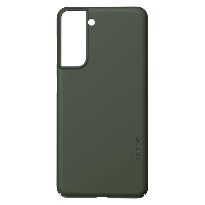 Nudient Thin Precise V3 Samsung Galaxy S21 Cover, Pine Green