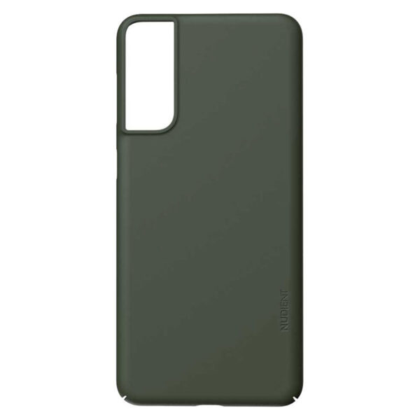 Nudient Thin Precise V3 Samsung Galaxy S21+ Cover, Pine Green