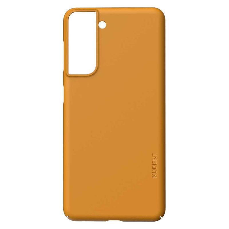 Nudient Thin Precise V3 Samsung Galaxy S21 Cover, Saffron Yellow