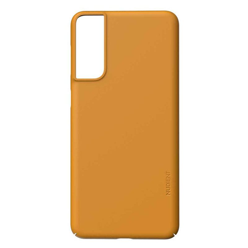 Nudient Thin Precise V3 Samsung Galaxy S21+ Cover, Saffron Yellow