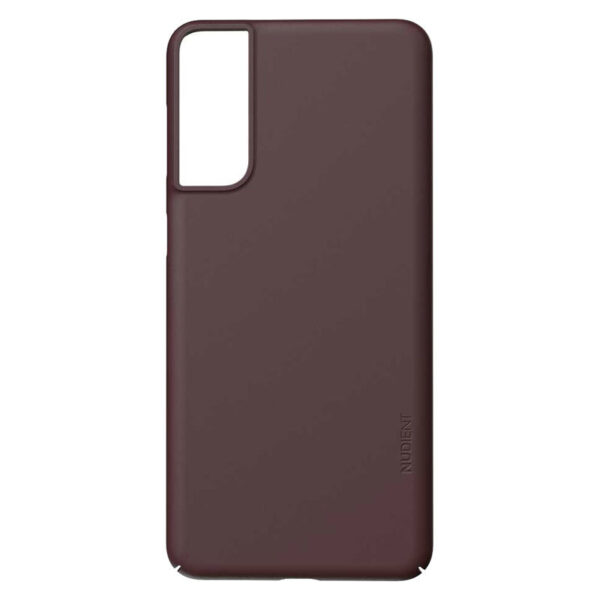 Nudient Thin Precise V3 Samsung Galaxy S21+ Cover, Sangria Red