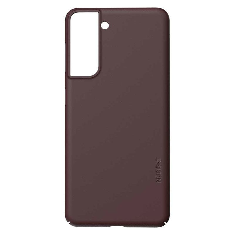 Nudient Thin Precise V3 Samsung Galaxy S21 Cover, Sangria Red