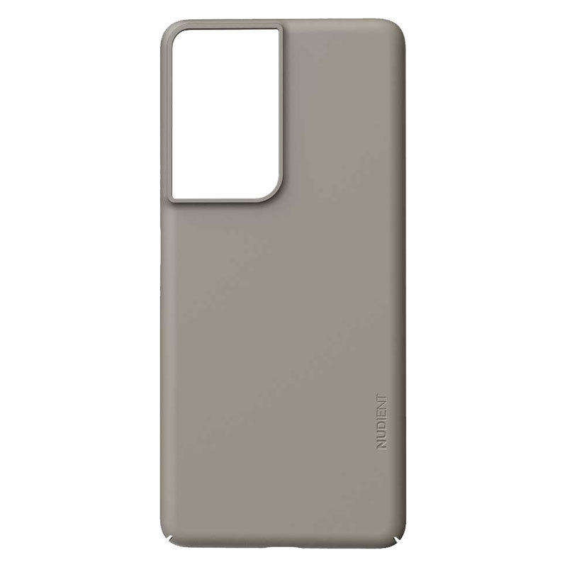 Nudient Thin Precise V3 Samsung Galaxy S21 Ultra Cover, Clay Beige