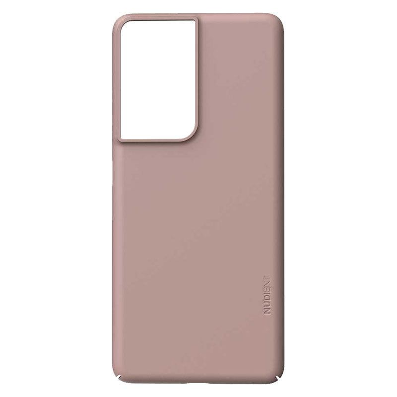 Nudient Thin Precise V3 Samsung Galaxy S21 Ultra Cover, Dusty Pink