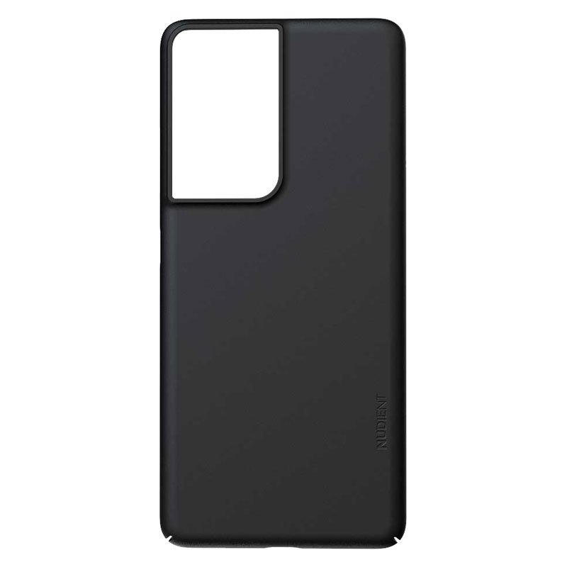 Nudient Thin Precise V3 Samsung Galaxy S21 Ultra Cover, Ink Black