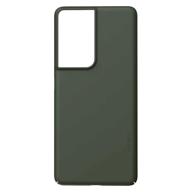 Nudient Thin Precise V3 Samsung Galaxy S21 Ultra Cover, Pine Green