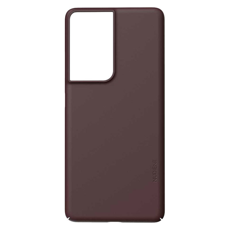 Nudient Thin Precise V3 Samsung Galaxy S21 Ultra Cover, Sangria Red