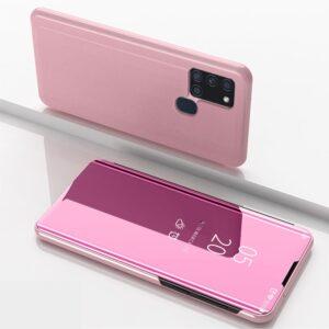 Samsung Galaxy A21s - View Window Mirror cover - Rosa guld