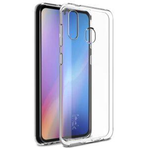 Samsung Galaxy A40 - IMAK 5 Series gummi cover/etui - Transparent