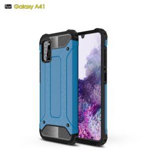 Samsung Galaxy A41 - Armor Guard Hybrid cover - Lyseblå